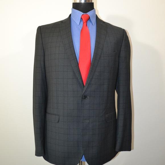 Nick Graham Other - Nick Graham 42L Sport Coat Blazer Suit Jacket Gray